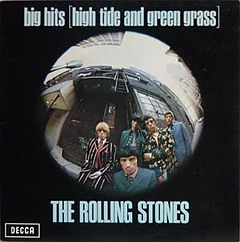 Обкладинка альбому «Big Hits (High Tide and Green Grass)» (The Rolling Stones, 1966)