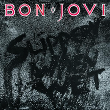Обкладинка альбому «Slippery When Wet» (Bon Jovi, 1986)