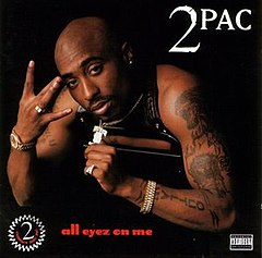Обкладинка альбому «All Eyez on Me» (2Pac, 1996)