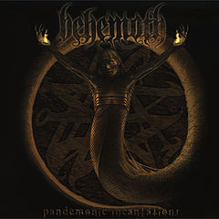 Обкладинка альбому «Pandemonic Incantations» (Behemoth, 1997)