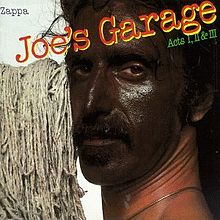 Обкладинка альбому «Joe's Garage: Acts I, II & III» (Френк Заппа, 1979)