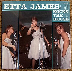 Обкладинка альбому «Etta James Rocks the House» (Етти Джеймс, 1964)