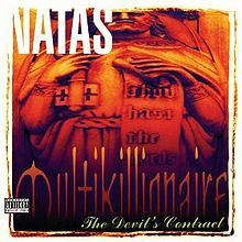 Обкладинка альбому «Multikillionaire: The Devil's Contract» (Natas, 1997)