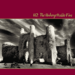 Обкладинка альбому «The Unforgettable Fire» (U2, 1984)