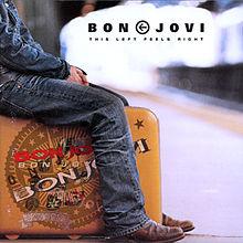 Обкладинка альбому «This Left Feels Right» (Bon Jovi, 2003)