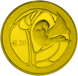 The 50th anniversary of the Republic of Cyprus gold reverse.png