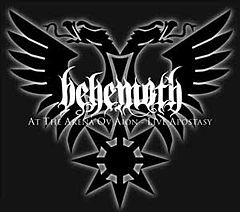 Обкладинка альбому «At the Arena ov Aion – Live Apostasy» (Behemoth, 2008)