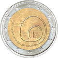 €2 Commemorative coin Slovenia 2013.jpg