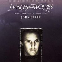 Обкладинка альбому ««Dances with Wolves»» (Джон Баррі, )