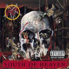 Обкладинка альбому «South of Heaven» (Slayer, 1988)
