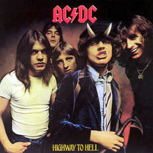 Обкладинка альбому «Highway to Hell» (AC/DC, 1979)