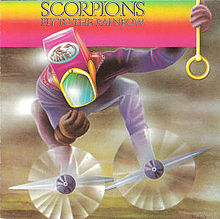 Обкладинка альбому «Fly To The Rainbow» (Scorpions, 1974)