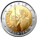 €2 commemorative coin Spain 2005.png