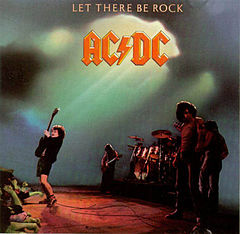 Обкладинка альбому «Let There Be Rock» (AC/DC, 1977)