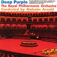 Обкладинка альбому «Concerto for Group and Orchestra» (Deep Purple, 1969)