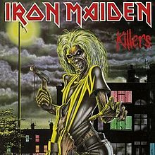 Обкладинка альбому «Killers» (Iron Maiden, 1981)