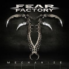 Обкладинка альбому «Mechanize» (Fear Factory, 2010)