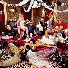 Обкладинка альбому «No Pads, No Helmets... Just Balls» (Simple Plan, 2002)