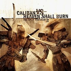 Обкладинка альбому «The Split Program II» (Caliban і Heaven Shall Burn, 2005)