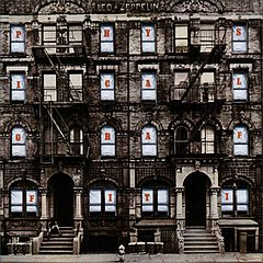 Обкладинка альбому «Physical Graffiti» (Led Zeppelin, 1975)