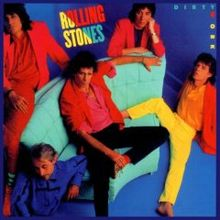 Обкладинка альбому «Dirty Work» (The Rolling Stones, 1986)