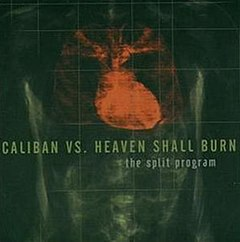 Обкладинка альбому «The Split Program» (Caliban і Heaven Shall Burn, 2000)