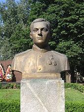 Погруддя Кравченка в Борисполі