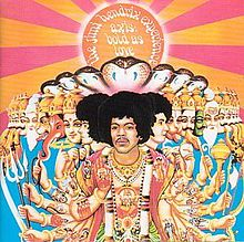 Обкладинка альбому «Axis: Bold As Love» (The Jimi Hendrix Experience, 1967)