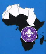 Regional badge of African Scout Region.png