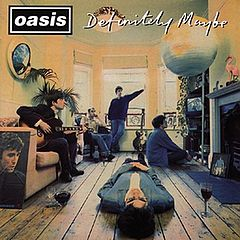 Обкладинка альбому «Definitely Maybe» (Oasis, 1994)