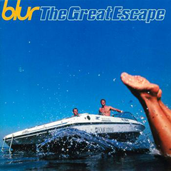 Обкладинка альбому «The Great Escape» (Blur, 1995)