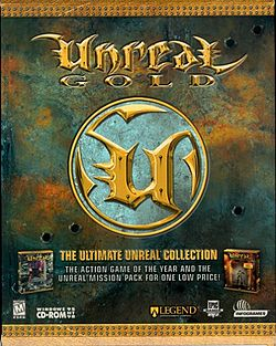 Unreal Gold U.S. box cover