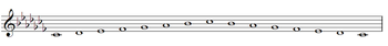 C-flat Major Scale.PNG