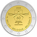 €2 commemorative coin Belgium 2008.jpg