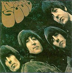 Обкладинка альбому «Rubber Soul» (The Beatles, 1966)