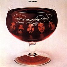 Обкладинка альбому «Come Taste the Band» (Deep Purple, 1975)