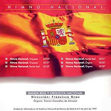 Spanish National Anthem official CD release.jpg