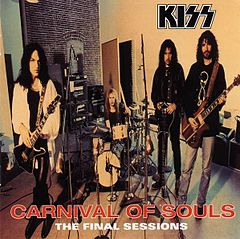 Обкладинка альбому «Carnival of Souls: The Final Sessions» (Kiss, 1997)