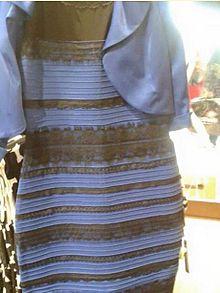 Феномен синьої або білої сукні — Вікіпедія 27b703a30bac7