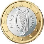 1 Євро аверс Ірландія
