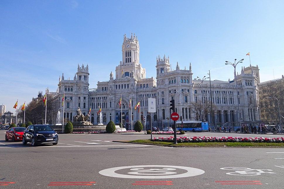 Plaza de Cibeles - Palacio de Comunicaciones