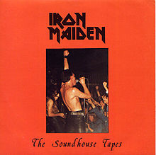 Обкладинка альбому «The Soundhouse Tapes» (Iron Maiden, 1979)