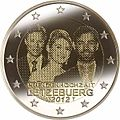 €2 Commemorative coin Lux 2012.jpg