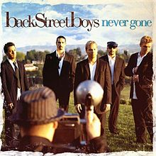 Обкладинка альбому «Never Gone» (Backstreet Boys, 2005)