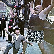 Обкладинка альбому «Strange Days» (The Doors, 1967)