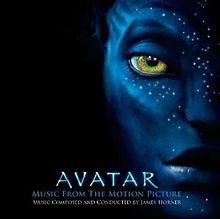 Обкладинка альбому «Avatar: Music from the Motion Picture» (Джеймса Горнера, 2009)