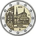 €2 commemorative coin Germany 2013 2.jpg
