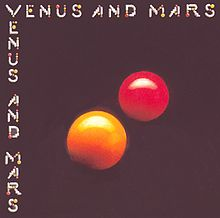 Обкладинка альбому «Venus and Mars» (Wings, 1975)