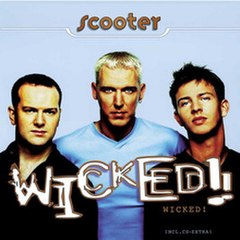 Обкладинка альбому «Wicked!» (Scooter, 1996)