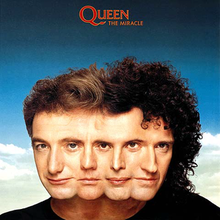 Обкладинка альбому «The Miracle» (Queen, 1989)